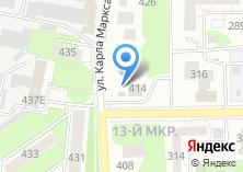 Компания «Автомойка на ул. Карла Марка» на карте