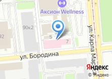 Компания «Аксион» на карте