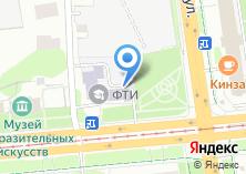 Компания «Физико-технический институт УрО РАН» на карте