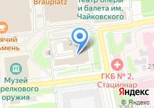 Компания «Ижевские информационные технологии» на карте