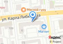 Компания «Торговый дом Обои» на карте