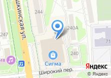 Компания «Камни-Самоцветы» на карте