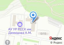 Компания «СДЮСШОР по биатлону» на карте
