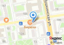 Компания «Каприс» на карте