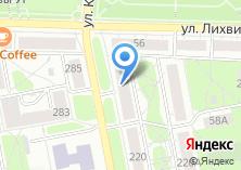 Компания «Евразийский открытый институт» на карте