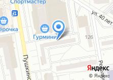 Компания «Мультик» на карте