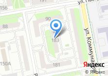 Компания «Управление проектных работ» на карте
