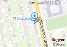 Компания «Ижевск-Проект-Строй» на карте