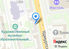 Компания «ООО «Газобетон-Ижевск»» на карте