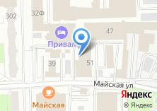 Компания «ТСБ» на карте