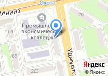 Компания «Ижмедцентр» на карте