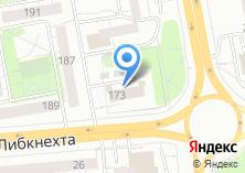Компания «Комплексный центр социального обслуживания населения №1 Первомайского района» на карте
