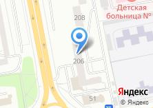 Компания «Subaru» на карте