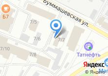 Компания «Уникс» на карте