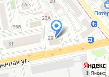 Компания «Авто-М» на карте