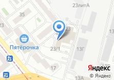 Компания «Te-caffe» на карте