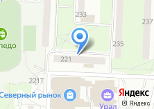 Компания «Уральская» на карте