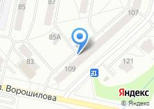 Компания «Веретено» на карте