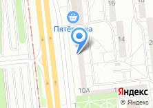 Компания «Мегасофт» на карте