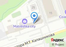 Компания «УралДомСтрой» на карте