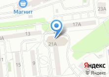 Компания «Красный метр» на карте