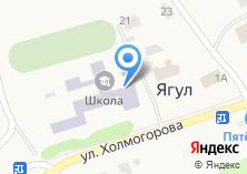 Компания «Средняя школа» на карте