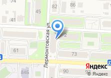 Компания «Строящийся жилой дом по ул. Терешковой (н.п. Пригородный)» на карте