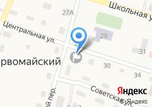 Компания «Администрация Первомайского сельского поселения» на карте