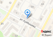 Компания «УралТрансБанк» на карте