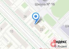 Компания «Банкомат МЕТКОМБАНК» на карте
