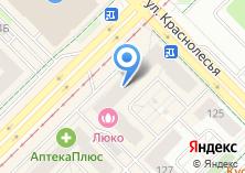 Компания «Кухни эконом+» на карте