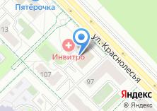 Компания «Центр проката лыж и велосипедов на ул. Краснолесья» на карте