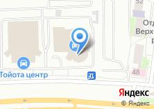 Компания «Лексус-Екатеринбург» на карте