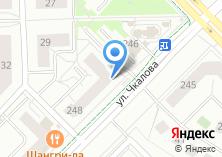 Компания «Магазин сумок и часов на ул. Чкалова» на карте