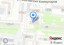 Компания «Военный комиссариат Свердловской области» на карте