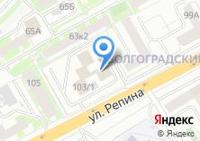 Компания «Металлинвест-Екатеринбург» на карте