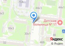 Компания «Автостоянка на ул. Викулова» на карте