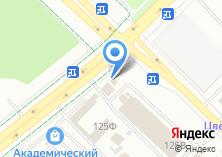 Компания «Уральский Шинный Центр» на карте