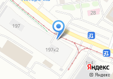Компания «Западное трамвайное депо» на карте