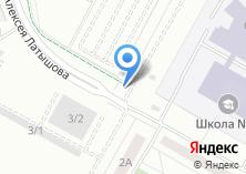 Компания «Автостоянка на ул. Машиностроителей (г. Верхняя Пышма)» на карте