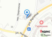 Компания «Автосервис на ул. Репина» на карте