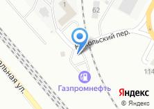 Компания «АЗС Газпромнефть-Урал Железнодорожный район» на карте
