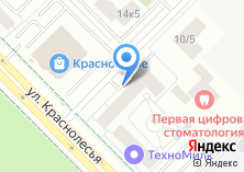 Компания «KRASA-market» на карте