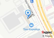 Компания «Уралпуть» на карте