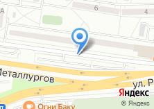 Компания «Автостоянка на ул. Металлургов» на карте