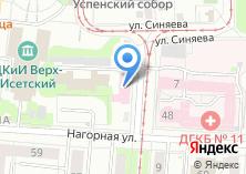 Компания «Управление Ветеринарии г. Екатеринбурга» на карте