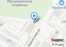 Компания «ТЕХОДЕЖДА» на карте