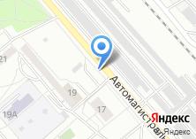 Компания «Автостоянка на Автомагистральной» на карте
