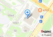 Компания «Сейф-двери» на карте