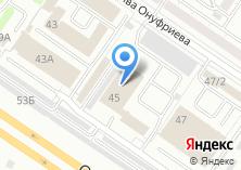 Компания «ДЭУ Ленинского района» на карте